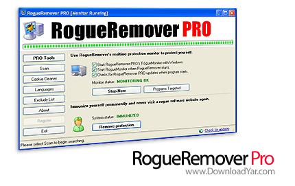 دانلود Malwarebytes RogueRemover Pro v1.20 - نرم افزار ضدهک و جاسوسی