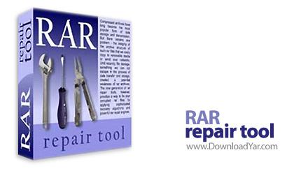 دانلود RAR Repair Tool v4.0.1 - نرم افزار بازیابی و ترمیم فایل های فشرده RAR
