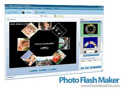 دانلود AnvSoft Photo Flash Maker v5.20 - نرم افزار ساخت گالری عکس