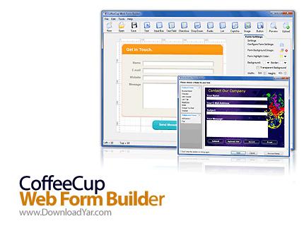 دانلود CoffeeCup Web Form Builder v8.1 - نرم افزار ساخت فرم های اینترنتی