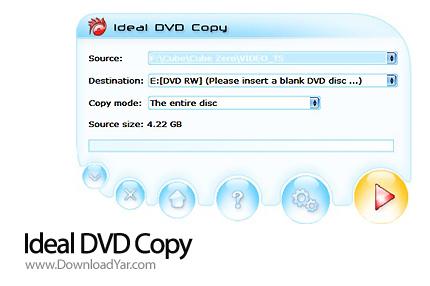دانلود Ideal DVD Copy v3.2 - نرم افزار کپی فیلم های DVD