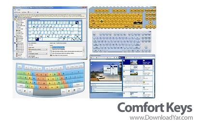 دانلود Comfort Keys Pro v4.0.5.0 - نرم افزار ایجاد کلید میانبر برای هر دستور
