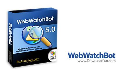دانلود Web WatchBot Enterprise v5.1.4.18624 - نرم افزار نظارت، کنترل و اطلاع رسانی وضعیت وبسایت ها و سرورها