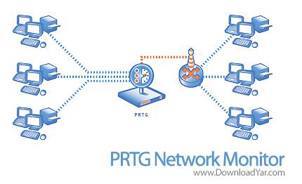 دانلود PRTG Network Monitor v7.2.5.5514 - نرم افزار مدیریت و نظارت حرفه ای بر شبکه های کامپیوتری