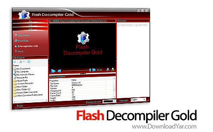 دانلود Flash Decompiler Gold v2.3.1.1200 - نرم افزار ریسورس کردن فایل های فلش