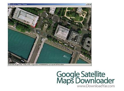 دانلود Allallsoft Google Satellite Maps Downloader v6.50 - نرم افزار ذخیره سازی عکس های ماهواره ای گوگل
