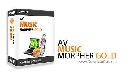 دانلود AV Music Morpher Gold v5.0.35 - نرم افزار ویرایش و میکس فایل های صوتی