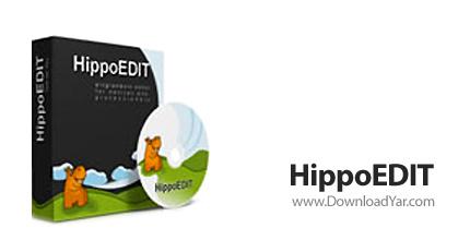 دانلود HippoEDIT v1.48.768 - نرم افزار ویرایشگر متن تحت ویندوز