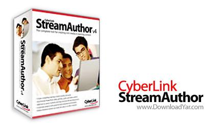 دانلود CyberLink StreamAuthor v4.0.1208 - نرم افزار ساخت محتواهای آموزشی چندرسانه ای