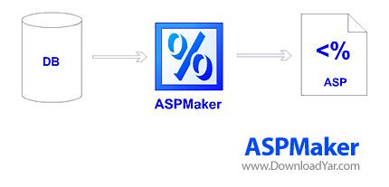 دانلود ASPMaker v8.0.2 - نرم افزار طراحی و ساخت صفحات asp با پایگاه داده