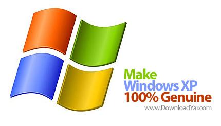 دانلود Make Your Windows XP 100 Genuine - نرم افزار قانونی کردن ویندوز XP