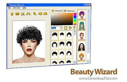 دانلود Beauty Wizard v3.3 - نرم افزار تغييرات زيبايی ظاهری در چهره