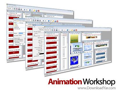 دانلود Alchemy Mindworks Animation Workshop v2.0a28 - نرم افزار ساخت تصاویر و عکس های متحرک