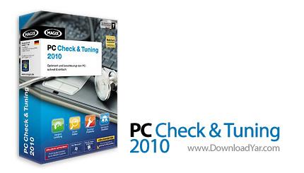 دانلود Magix PC Check Tuning v2010 - نرم افزار نگهداری و بهینه سازی سیستم عامل