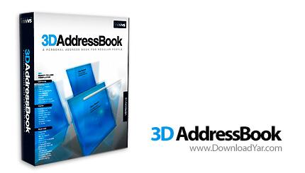 دانلود Studio V5 3D AddressBook v2.0 - نرم افزار ایجاد دفترچه های سه بعدی