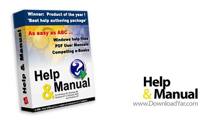 دانلود Help And Manual Professional Edition v5.3.0 Build 1025 - نرم افزار ساخت فایل های Help