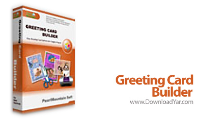 دانلود Greeting Card Builder v2.1.0 Build 2237 - نرم افزار طراحی کارت تبریک