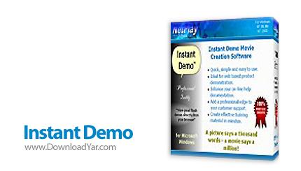 دانلود NetPlay Software Instant Demo v7.50.45 - نرم افزار فیلم برداری از صفحه دسکتاپ