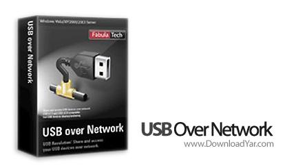 دانلود USB Over Network v4.4 - نرم افزار استفاده از کارت شبکه به عنوان سوییچر