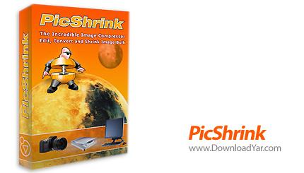 دانلود PicShrink v2.2 - نرم افزار فشرده سازی فایل های عکس