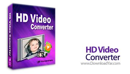 دانلود Wondershare HD Video Converter v4.2.0.60 - نرم افزار تبدیل فرمت فایل های تصویری