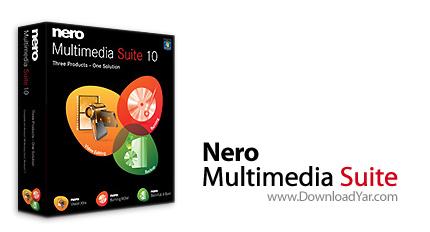 دانلود Nero Multimedia Suite v10.5.10500 - نرم افزار رایت لوح های فشرده