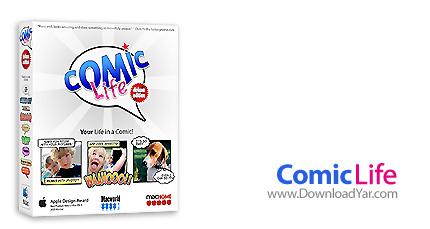 دانلود Comic Life v1.3.6.71 - نرم افزار ایجاد شکلک های متفاوت برای صبحت کردن بر روی تصاویر افراد