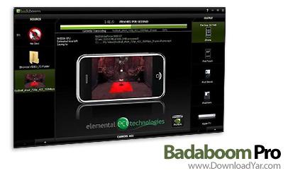 دانلود Badaboom Pro v1.2.0.85 - نرم افزار تبدیل فرمت فایل های ویدئویی