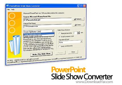 دانلود PowerPoint Slideshow Converter v3.2.1 - نرم افزار تبدیل فرمت ppt به exe