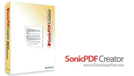 دانلود Investintech Sonic PDF Creator v2.0 - نرم افزار خلق و تولید فایل های PDF