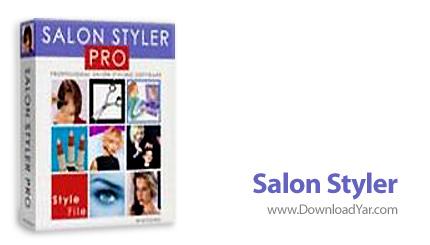دانلود Salon Styler v5.2.1 Professional - نرم افزارانتخاب و طراحی مدل مو