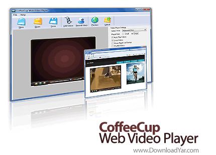 دانلود CoffeeCup Web Video Player v5.3 - نرم افزار تبدیل ویدئو ها به فلش ویدئو