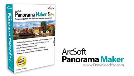 دانلود ArcSoft Panorama Maker Pro v5.0.0.21 - نرم افزار ساخت تصاویر پانوراما