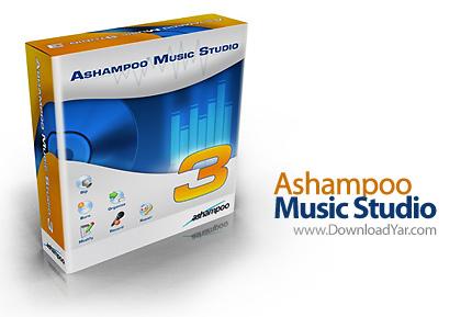 دانلود Ashampoo Music Studio v3.51 - نرم افزار پخش و ویرایش موسیقی