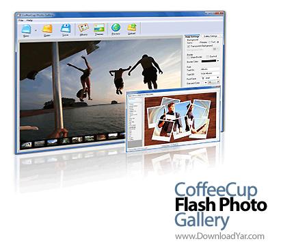 دانلود CoffeeCup Flash Photo Gallery v5.95 - نرم افزار ساخت آلبوم عکس فلش