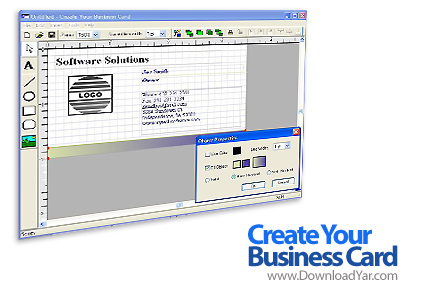 دانلود Create Your Business Card v1.8 - نرم افزار طراحی و ساخت کارت ویزیت