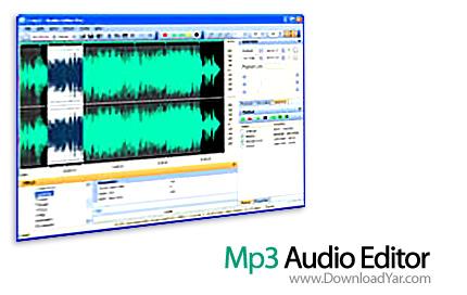 دانلود Mp3 Audio Editor Pro v7.9.1 - نرم افزار ویرایش فایل های MP3