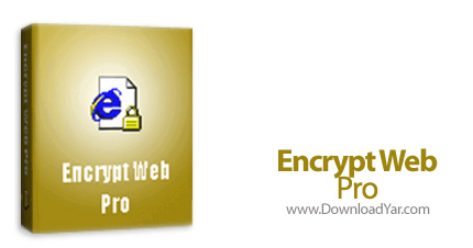 دانلود Encrypt Web Pro v2.8 - نرم افزار رمزنگاری صفحات وب