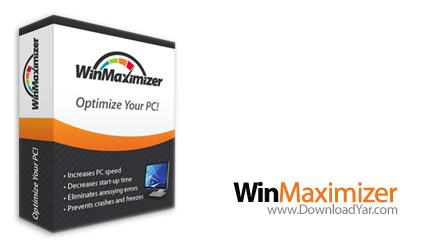 دانلود WinMaximizer v1.1.84 Multilingual - نرم افزار بهینه سازی و رفع خطاهای ویندوز