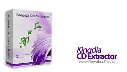 دانلود Kingdia CD Extractor v3.7.6 - نرم افزار تبدیل سی دی های صوتی و کپی آنها