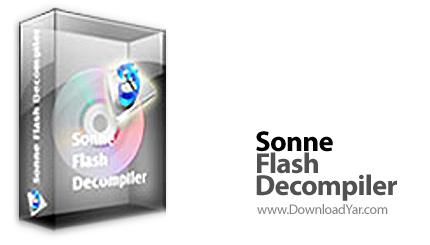 دانلود Sonne Flash Decompiler v5.2.1.2277 - نرم افزار تجزیه فایل های فلش