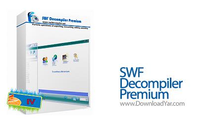 دانلود SWF Decompiler Premium v2.2.1.1380 - نرم افزار ویرایش و مشاهده فایل های فلش
