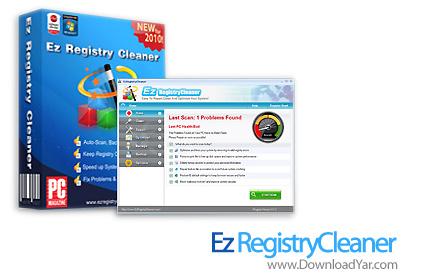 دانلود Ez RegistryCleaner 2010 v3.1.2 - نرم افزار بهینه سازی و پاکسازی رجیستری