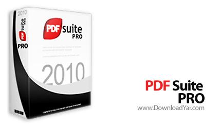 دانلود PDF Suite Professional Edition 2010.v9.0.32.36863 - نرم افزار مدیریت اسناد PDF