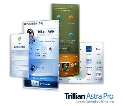 دانلود Trillian Astra Pro v4.2 Build 19 - نرم افزار چت اینترنتی