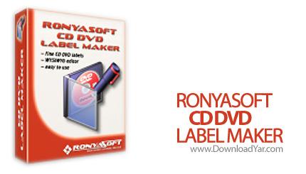 دانلود RonyaSoft CD DVD Label Maker v2.02.04 - نرم افزار طراحی لیبل و انواع کاور