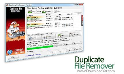 دانلود Duplicate File Remover v2.2 build 415 - نرم افزار پاکسازی هارد از فایل های مشابه