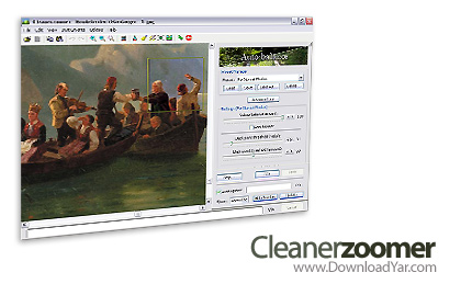 دانلود Cleanerzoomer Professional v4.03 - نرم افزار حذف نویز از تصاویر