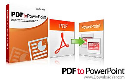 دانلود PDF to PowerPoint Converter v2.0.0.1 - نرم افزار تبدیل فایل های PDF به پاورپوینت