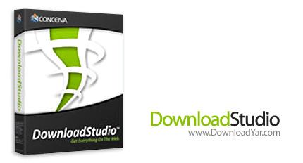 دانلود Conceiva DownloadStudio v6.0.3.0 - نرم افزار مدیریت دانلودها